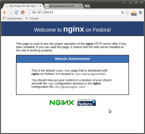 Nginx-HTTP-Server-on-Fedora